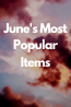 Top Circulating Items in June