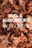 What's New in September: DVDs & Audiobooks