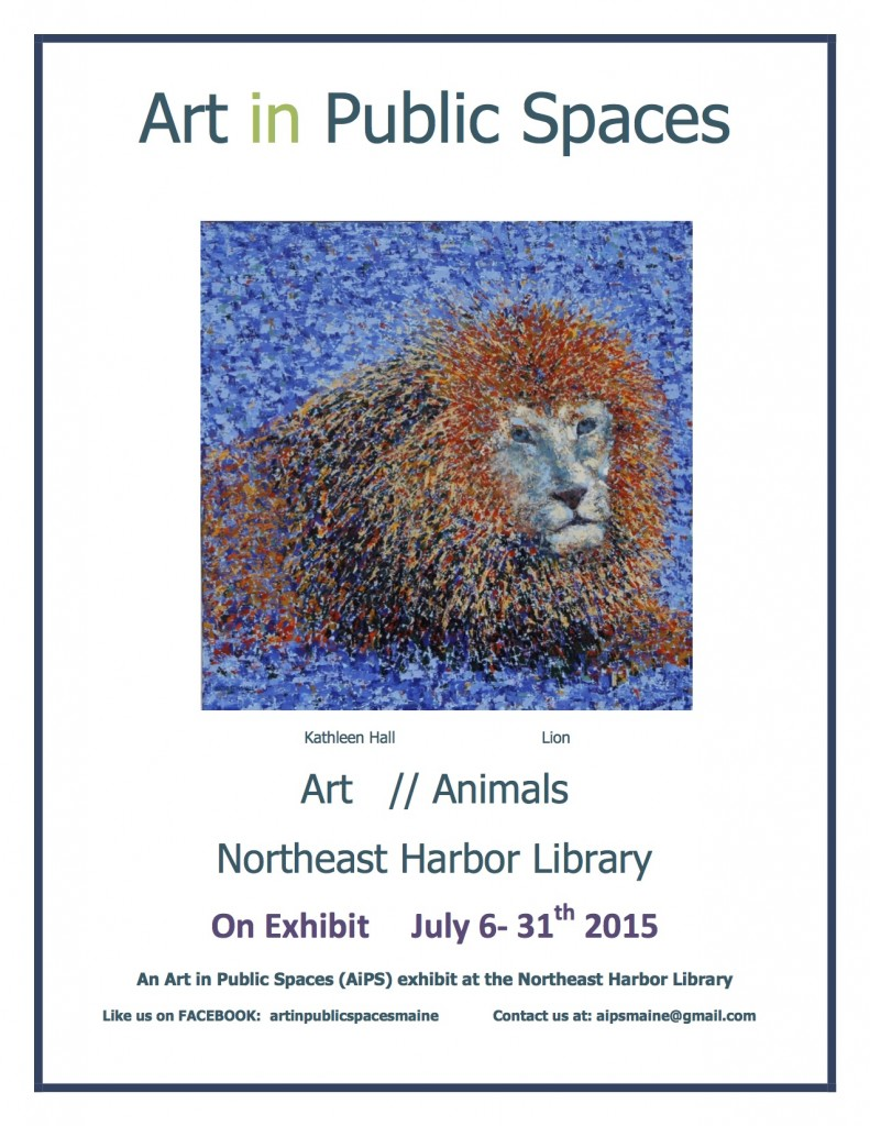 K hall  Poster for NEH Art - Animals 2015