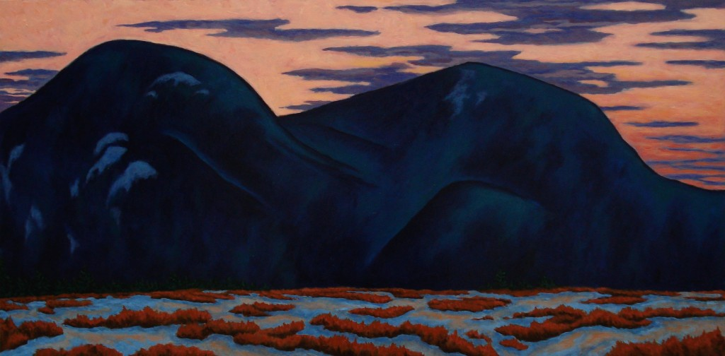 Reclining Mountain r. scott baltz