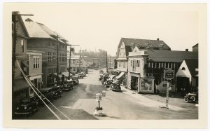 Main Street, Northeast Harbor, circa 1930s